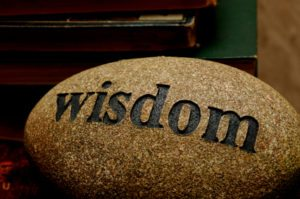 Becoming wiser in His presence